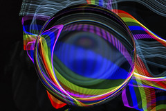 Colourful Light Paint HSS (superdavebrem77) Tags: colour crystalball reflection refraction lightpainting hss sliderssunday