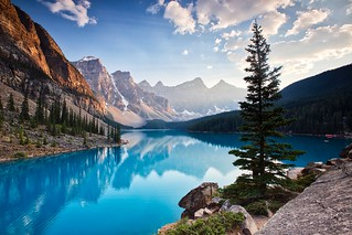 Moraine Lake South channel