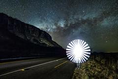 Lights in the night. (Valter Patrial) Tags: goiás brasil br lights night milkyway road highway sky stars