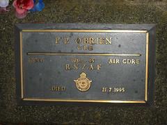 Memorial plaque - Percival Patrick O'Brien