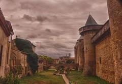 Carcasonne (Francia) (Carlos M. M.) Tags: canon100d hdr carcasonne francia france nubes clouds castillo castle
