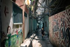 (Jack R. Seikaly Photography) Tags: bourj elbarajneh palestinian refugee camp beirut lebanon palestine street alley jack seikaly r jrseikaly photography person portrait people