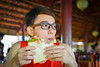Asian young man eating sandwich (phuong.sg@gmail.com) Tags: appetizer asia asian burger cafe concept customer dining dinner dish eating eyeglasses food gadget glasses gourmet guy hipster hispanic hungry indoors italian latin leisure lifestyle lunch male man meal mobile people person phone restaurant sandwich sitting smartphone snack table technology young