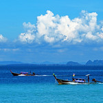 Headway. Boats, Sea & Clouds thumbnail