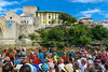 Red Bull Cliff Diving / Mostar / Bosnia and Herzegovina (HimzoIsić) Tags: jumping sport extreme action building poeple outdoor