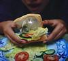 A Light Lunch (fourthornedrose) Tags: surreal lightbulb conceptual sandwich weird whimsical dreams conceptualphotography surrealism food exotic biz bizarre strange odd unusual