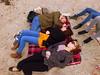 Woolacombe - Sept-2017 (19) (Worcestershire UK) Tags: devon northdevon coastal seaside 2017 holiday september harveybrown jadehewlett oliviawright woolacombe beach sand tuckered tired sleep snooze sleeping sleepy barricanebeach