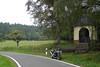 My way of churchgoing 1 (Rob de Hero) Tags: motorrad motorcycle speedtriple triumph triumphspeedtriple motorradtour bike biketour motorcycletrip motorbike speed triple kapelle chapel countryside germany deutschland landschaft