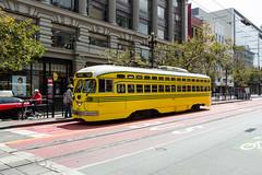 Cincinnati in SF (skabat169) Tags: sanfrancisco ca muni muni1057 pcc streetcar