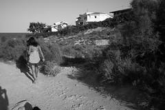 to beach (pepe amestoy) Tags: blackandwhite people alicante spain fujifilm xe1 voigtländer color skopar 421 vm m mount