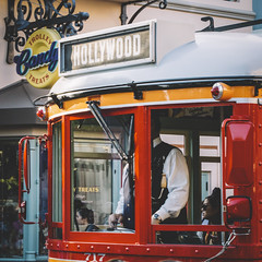 Trolley (Austin Hudson) Tags: disneyland california trolley hollywood