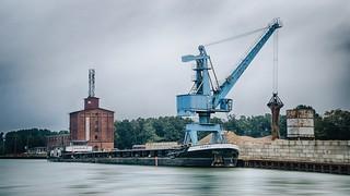 Harbor Crane at Work
