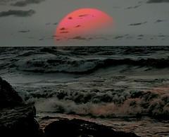 Romantic Sunrise (marymorano) Tags: sun sunbeams sunrise sunrisesandsunsets lakemichigansunrise lakemichigan lakes reflections magicmoments colorsandcolors catchycolors flickrnature flickraddicts skiesandweather weather sky theskiesabove ilovenature 123