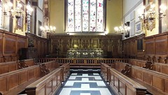 Balliol College chapel, Oxford (Pjposullivan1) Tags: collegechapel balliolcollege oxforduniversity altar altarrails crucifix williambutterfield