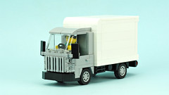 Delivery truck (de-marco) Tags: lego city town truck car cargo