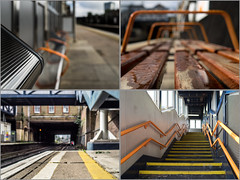 My local station (Geza (aka Wilsing)) Tags: overground station em1 mzd17mm18 zd