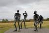 Perlan Statues