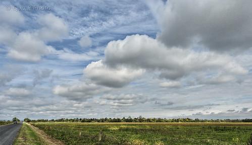 Clouds Autumn Landscape / Felhők Ősz Táj