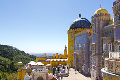 Pena Palace (joscelyn_p) Tags: penapalace sintra lisboa lisbon portugal travel canon lightroom palace colors colorful fairytale