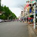 The view of Hai Ba Trung Blvd, Can Tho , Vietnam
