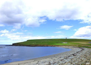 Looking Towards Marwick Head