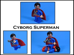 Cyborg Superman (MrKjito) Tags: lego minifig super hero comics comic dc man cyborg superman hank henshaw rebirth action