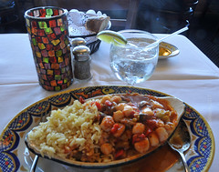 Lunch in Aliotos San Francisco (Vee living life to the full) Tags: sanfrancisco city world famous statues buildings thebay leger tour holiday ferien urlaub vacation tourism tourist america usa april2017 nikond300 sunshine state california bythebay bridge food restaurant aliotos fishermanswharf pier39 clams lunch dinner eating out return vwselburn