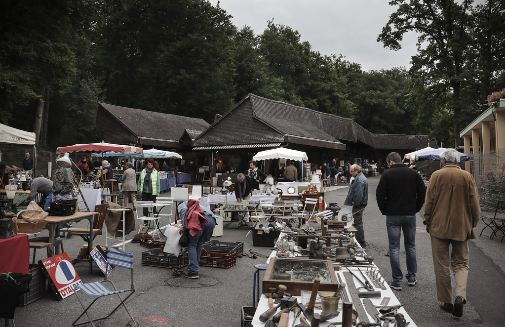 Ordinaire Brocante En Basse Normandie #2: Bagnoles-de-lu0027Orne Brocante Fair (Kotomi_) Tags: Antique Brocante