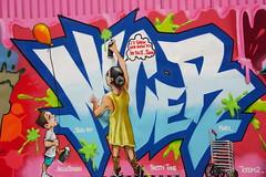 Street Art NYC: Bushwick Collective, Brooklyn (SomePhotosTakenByMe) Tags: nicer tatscru cru urlaub vacation holiday usa unitedstates america amerika nyc newyorkcity newyork stadt city brooklyn outdoor bushwick bushwickcollective mural wandbild graffiti kunst art streetart strasenkunst