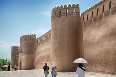 Ciudadela de Rayen, Irán (kaplan10) Tags: fortaleza ciudadela arqueologia rayen kerman iran desierto rutadelaseda adobe murallas ruina
