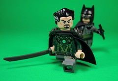 The Demon's Head (MrKjito) Tags: lego minifig super hero comics comic dc detective batman ras ah ghul demons head custom minfig