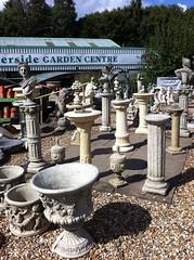 'Antiquities' - Riverside Garden Centre (Paul Conneally) Tags: mindfulness psychogeography paulconneally gardening plants gardenstatue statue sculpture shopping garden gardencentre