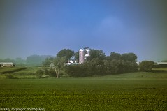 Farm Living. (kmac1960) Tags: basehor farmhouse haze hwy24