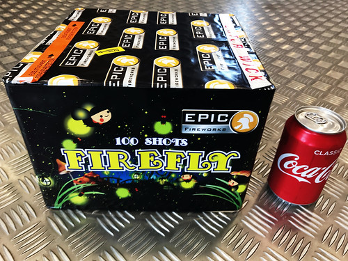 Fire Fly 100 Shots Single Ignition #EpicFireworks