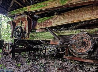 Mothballed machinery.