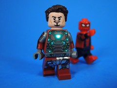 Mr. Stark! (MrKjito) Tags: lego super hero comics comic spiderman homecoming iron man tony stark peter parker