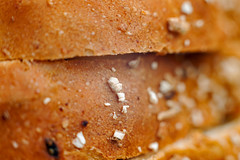 The best thing since,....well, you know........ (jimj0will) Tags: bread macro macromonday tabletop grain wholegrain granary sliced slices brown mm