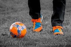 Football (deltic17) Tags: football soccer ball boots footballboots colour isolation colourisolation canon junior training practice