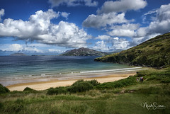 Ballymastocker Bay (marko.erman) Tags: ireland coast landscape paysages irlande côte atlantic ocean beach plage ballymastocker bay extérieur nuage ciel paysage montagne mer rivage calme beautiful nature sony outside travel popular pov sun sunny waves clouds sky