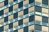 Buildling with blue and white (Jan van der Wolf) Tags: map17379v building gebouw gevel facade modernarchitecture architectuur architecture blue blauw wit white ramen windows rotterdam scheepvaartentransportcollege stc zeevaartschool neutelingsriedijk geometric geometry
