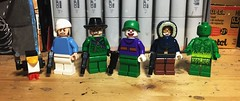 Hired Help (LordAllo) Tags: lego dc batman the video game henchman goon penguin riddler joker mister freeze girl poison ivy clown