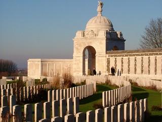 Tyne Cot Commonwealth War Graves Cemetery, Belgium