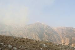 Mount Çika, Dhërmi, Albania (Tokil) Tags: mountcika parkukombëtarllogara dhermi llogaranationalpark mountains colors nature landscape fire smoke hot summer albania trip travel shqipëri shqipëria nikond90