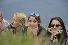 Some beauties among nature (WojtekBear) Tags: people nature beauty woman girls poland polska