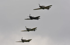 BBMF Spitfire's and Hurricane's (NickS1966) Tags: bbmf spitfires hurricane fighter airshow cosford 2017 aircraft flight nikon d7100 tamron150600mm