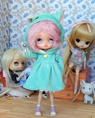 I want to be a magical girl! (Pliash) Tags: dal doll cute kawaii dals groove family pullip asian fashion dolls furara frara magical pink chan mpc pinocchio full custom madeleine dollies madeleinedolls madeleinedollies