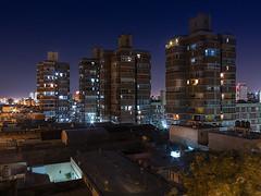 4 torres (Luis_Garriga) Tags: torre miguelangelroca arquitectura córdoba argentina nocturna noche longexposure canon g1x edificios colores luces