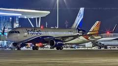 Indigo Airbus A320 VT-IAR Bangalore (BLR/VOBL) (Aiel) Tags: indigo airbus a320 vtiar bangalore bengaluru canon60d tamron70300vc