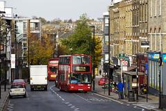 Metroline London VP496 LK53LXN Route 4 Blackstock Road (TfLbuses) Tags: tfl public transport for london red double decker buses plaxton president volvo b7tl metroline
