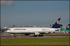 D-ALCC McDonnell Douglas MD-11(F) Lufthansa Cargo (elevationair ✈) Tags: dublin airport dublinairport dub eidw airliners airlines avgeek aviation airplane plane aircraft departure takeoff rrunway sun sunny sunshine autumn cargo freighter freightdog md mcdonnelldouglas md11 md11f mcdonnelldouglasmd11f scud triholer lufthansa lufthansacargo dalcc